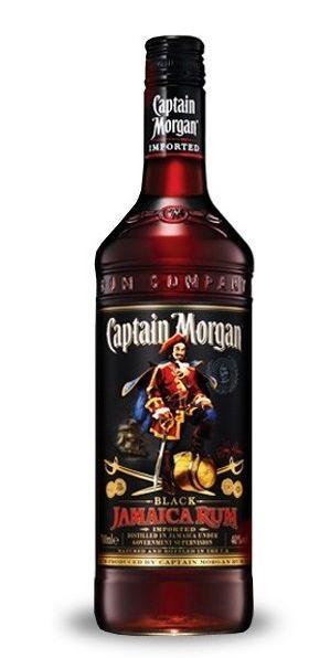 Captain Morgan BLACK JAMAICA 70 cl / 40 % Karibik