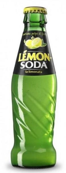 LEMON SODA analcolico Glasflasche 330 ml Italien