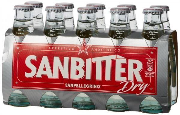Sanpellegrino SANBITTER Dry Bianco box 24 x 100 ml Italy