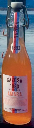 GAZOSA 1883 ARANCIATA AMARA Bügelflasche 350 ml Schweiz