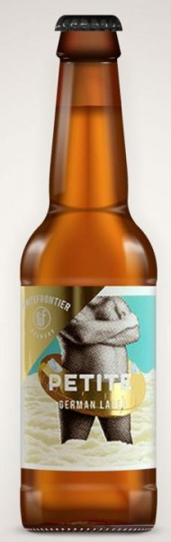 White Frontier PETITE German Lager 330 ml / 4.8 % Schweiz