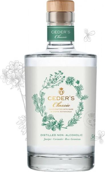CEDER'S Classic Alt Gin Alkoholfreier Gin 50 cl Schweden