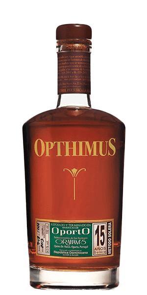 Opthimus Rum 15 Jahre A.S.Port Finish 70 cl / 43 % Dominikanische Republik