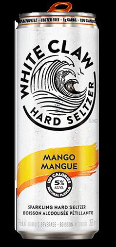 White Claw HARD SELTZER MANGO Dose 355 ml / 5 % USA