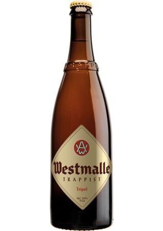Westmalle Tripel Trappist Champagnerbier 75 cl / 9.5 % Belgien