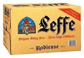 Leffe Radieuse 24 x 330 cl / 8.2 % Belgien