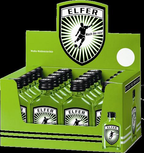 ELFER Shot Waldmeister - Vodka 2 cl / 15 % Deutschland
