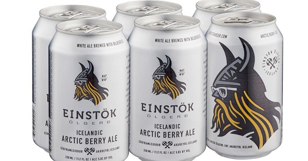 EINSTÖK Artic Berry Ale Cans Case 24 x 330 ml / 5.2 % Island