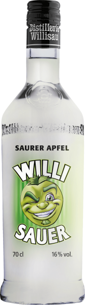 Willi Shot Sauer - Saurer Apfel 70 cl / 16 % Schweiz