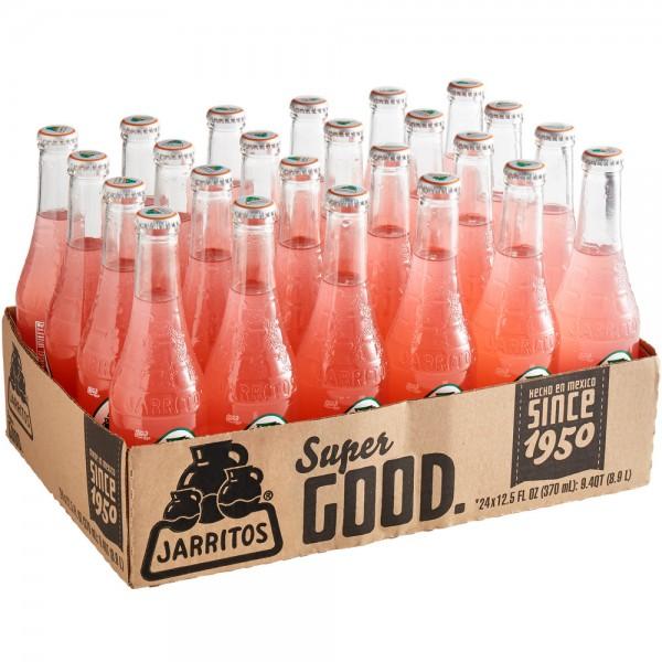JARRITOS Guava natural flavor soda Kiste 24 x 370 ml Mexiko