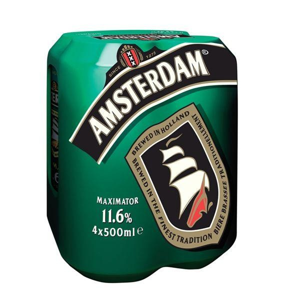 AMSTERDAM Maximator Case 24 x 500 ml / 11.6 % Holland