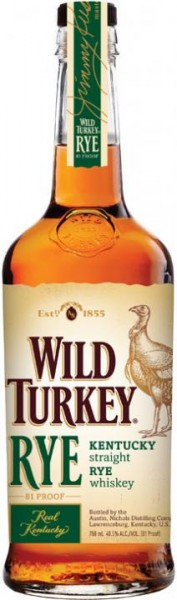 WILD TURKEY Kentucky Straight RYE Whiskey 70 cl / 40.5 % USA
