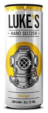 LUKE'S Hard Seltzer MANGO 330 ml / 5 % Österreich