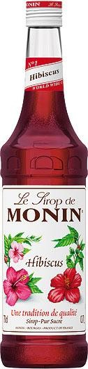 MONIN Premium Hibiscus Sirup 70 cl Frankreich
