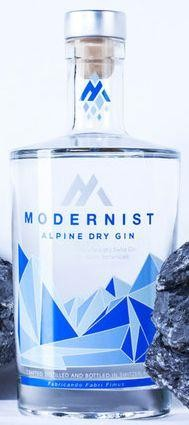 MODERNIST Alpine Dry Gin 70 cl / 44 % Schweiz