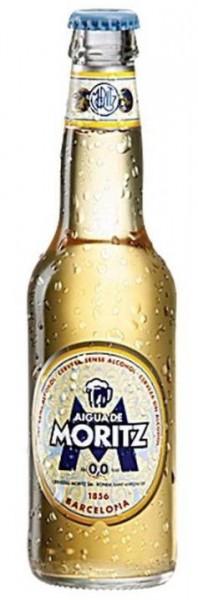Moritz AIGUA 0.0 % Alkoholfreies Bier 330 ml Spanien