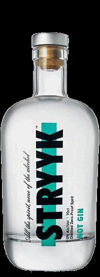 STRYYK Not GIN Alkoholfreie Spirituose 70 cl UK