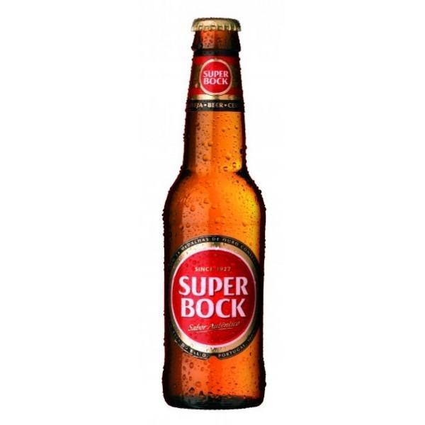 SUPER BOCK Bier 330 ml / 5.2 % Portugal
