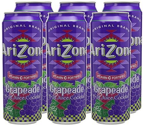 Arizona Grapeade box 24 x 680 ml USA