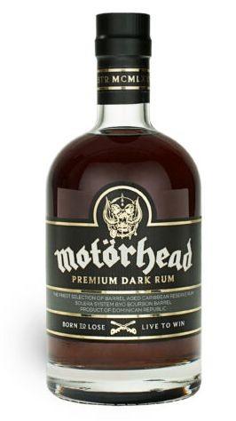 Motörhead Premium Dark Rum 70 cl / 40 % Dominikanische Republik
