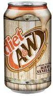 A&W Root Beer DIET 355 ml USA
