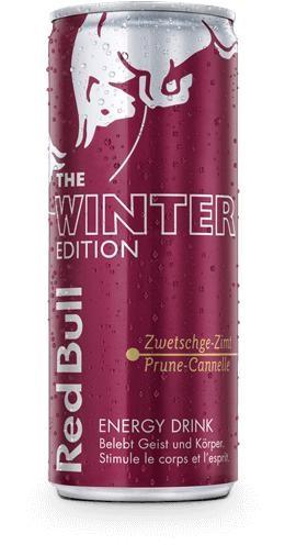 Red Bull Special WINTER Edition Zwetschgen - Zimt Energy Drink 250 ml Schweiz