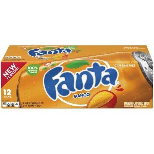 Fanta Mango Case 24 x 355 ml USA