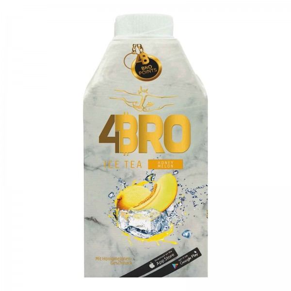 4Bro Ice Tea HONEY MELON 500 ml Deutschland