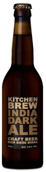 Kitchen Brew INDIA DARK ALE 24 x 330 ml / 5.8 % Schweiz