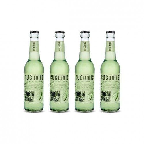 CUCUMIS GURKEN / CUCUMBER Limonade Vegan Kiste 24 x 330 ml Deutschland