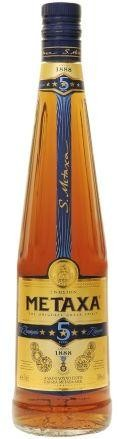 METAXA 5 Brandy 70 cl / 38 % Griechenland