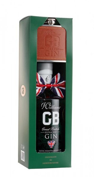 Williams CHASE Extra Dry Gin SET inkl. FLACHMANN 70 cl / 40 % UK