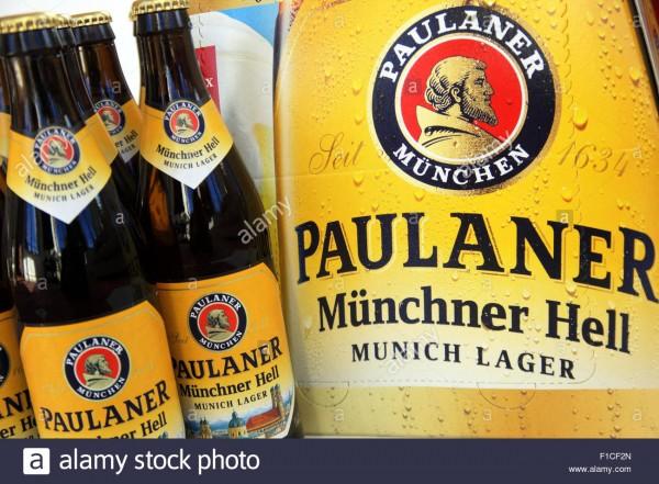 Paulaner Münchner Bier HELL Kiste 24 x 330 ml / 4.9 % Deutschland