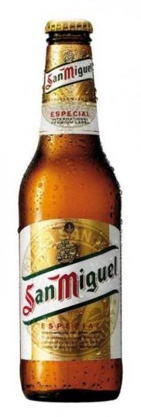 San Miguel Lager Bier 330 ml / 5.4 % Spanien