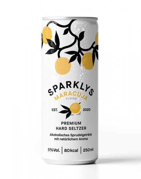 SPARKLYS Hard Seltzer MARACUJA 250 ml / 5 % Österreich