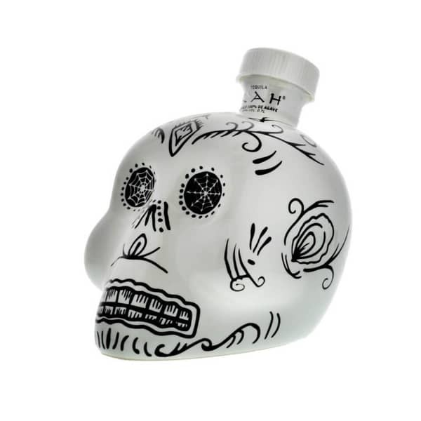 KAH Tequila BLANCO Skullflasche 75 cl / 40 % Mexico