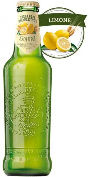 Birra MORETTI LIMONE Radler 330 ml / 2 % Italien