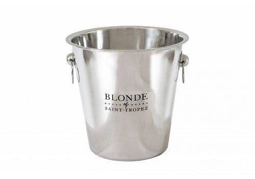 Eiskübel Mini INOX passend zu Blonde of Saint - Tropez Bier