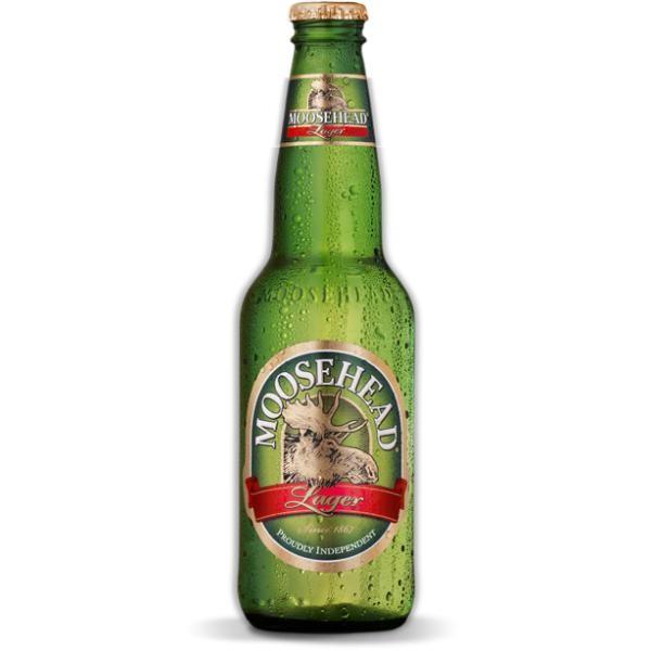 MOOSEHEAD Lager Bier 355 ml / 5 % Kanada