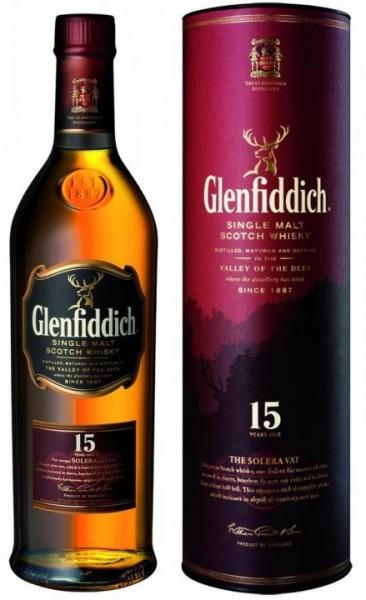 Glenfiddich 15 Single Malt Scotch Whisky 70 cl / 40 % Schottland