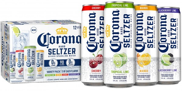 Corona Hard Seltzer Mix Pack 24 x 355 ml / 4.5 % Mexiko