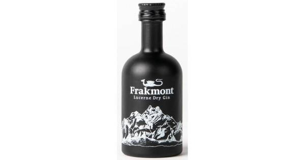 FRAKMONT Lucerne Dry Gin MINIATURE 5 cl / 40 % Schweiz