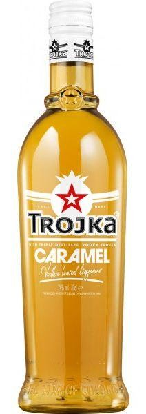 TROJKA CARAMEL Vodka Likör 70 cl / 24 % Schweiz