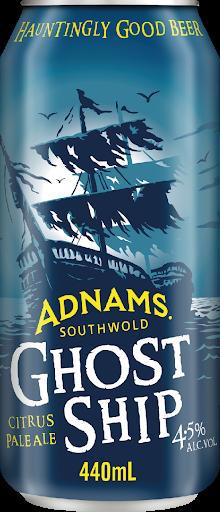 ADNAMS GHOST SHIP Citrus Pale Ale Dose 440 ml / 4.5 UK