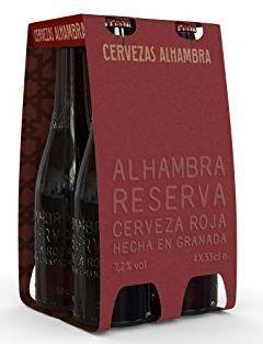 Alhambra Reserva ROJA Das Rote Reserva - Doppelbock Case 24 x 330 ml / 7.2 % Spanien
