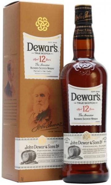 Dewar`s The Ancestor 12 Jahre Blended Scotch Whisky 70 cl / 40 % Schottland