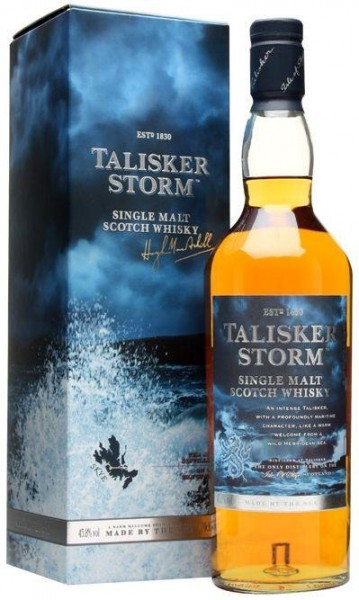 Talisker Storm Single Malt Scotch Whisky 70 cl / 45.8 % Schottland