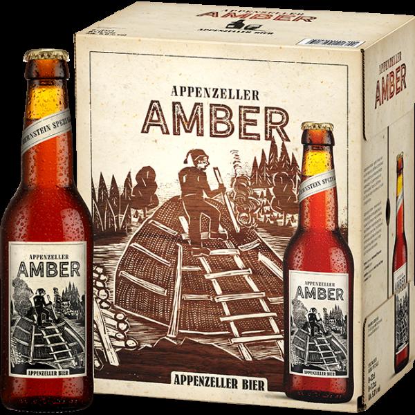 Appenzeller AMBER Bernstein Special 330 ml / 5 % Schweiz