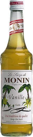 MONIN Premium Vanille / Vanilla Sirup 70 cl Frankreich