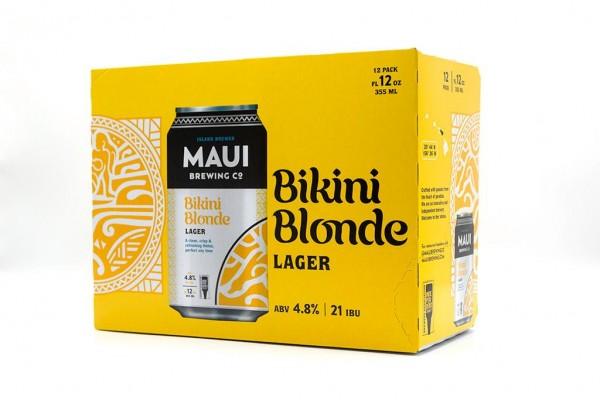 Maui Brewing BIKINI Blonde Lager Kiste 24 x 355 ml / 5.1 % Hawaii